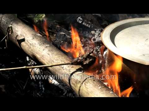 Indians cook bats to