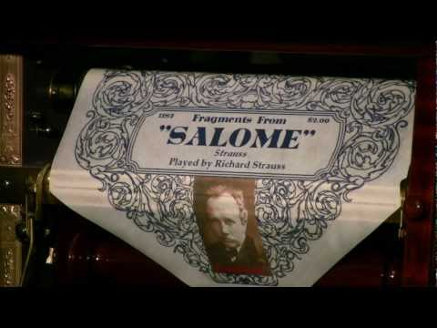 Welte Mignon - Salome - Comp. Strauss