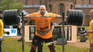 The strongest man in Denmark 2013SQUATFOR MAXwith 260 kg