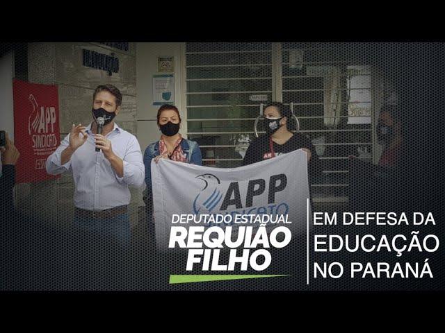 Requiao Filho defende manutenção de aulas de filosofia, sociologia e artes no PR