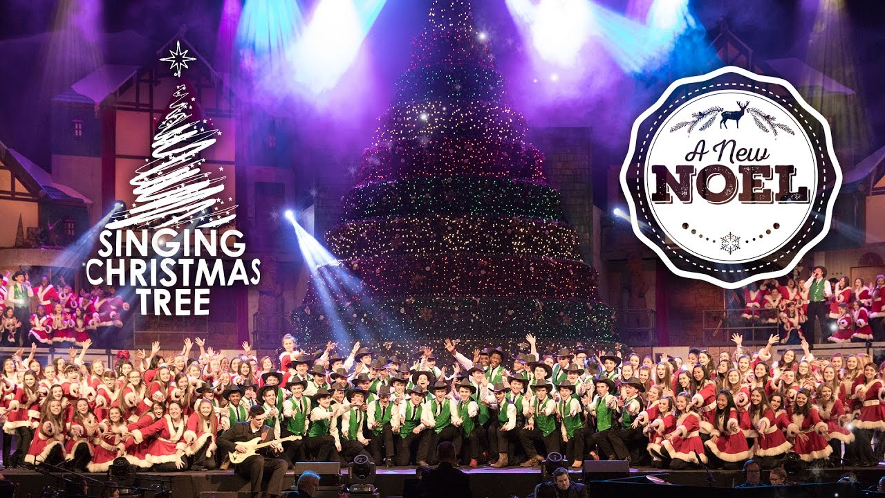 2016 Singing Christmas Tree | A New Noel - YouTube
