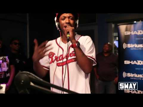 Scotty ATL Holds It Down For His City With A Freestyle On Sway In The Morning's ATL Cypher