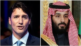 Canada appears to stand alone in feud with Saudi Arabia