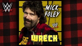 WWE: Wreck (Mick Foley) Theme Song + AE (Arena Effect)