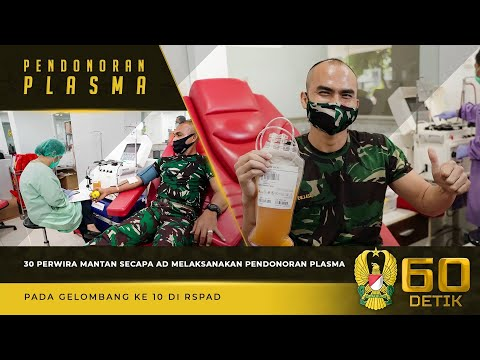 Sebanyak 30 Perwira Mantan Secapa AD Melaksanakan Pendonoran Plasma Gelombang ke-10
