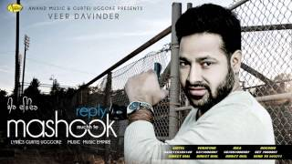 reply muchh te mashook ii veer davinder ii anand music ii new punjabi song 2015