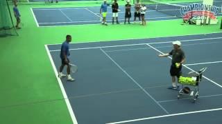 High Octane Individual Tennis Drills