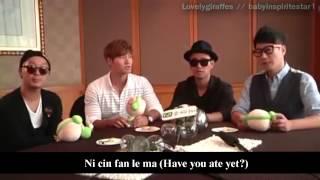 [ Eng ] Running Man (Ji Suk Jin, Haha, Kim Jong Kook, Kang Gary) Interview Beijing