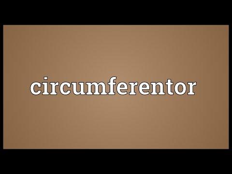 Header of circumferentor