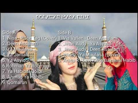 nissa-sabyan-full-album-terbaru---sholawat-masa-kini-bersama-nisa,-via-vallen,-jihan-audy