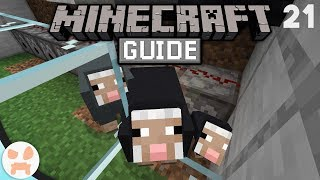 AUTO WOOL FARM! - Part 1 | The Minecraft Guide - Minecraft 1.14.2 Lets Play Episode 21