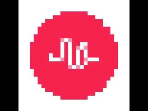 Musically logo pixel speed art
