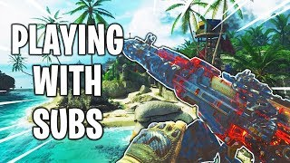 PLAYING WITH SUBS!: LEVEL 1000 In BO4!: #2 In The World(KC): Black Ops 4 Gameplay