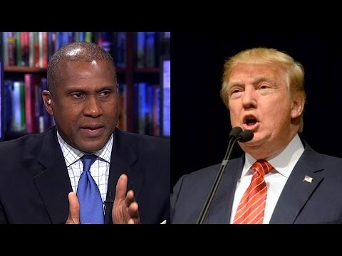 """Tavis Smiley Calls Out Corporate Media for Uncritical Coverage of """"Racial Arsonist"""" Donald Trump"""