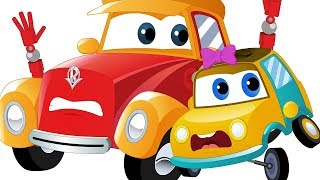 Car Cartoons For Children  Street Vehicle Videos For Babies by Kids channel
