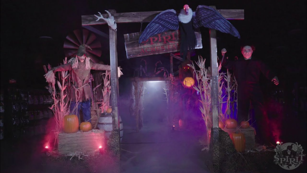 Spirit Halloween 2020 Farm Theme Spirit Acre Farms   Spirit Halloween   YouTube