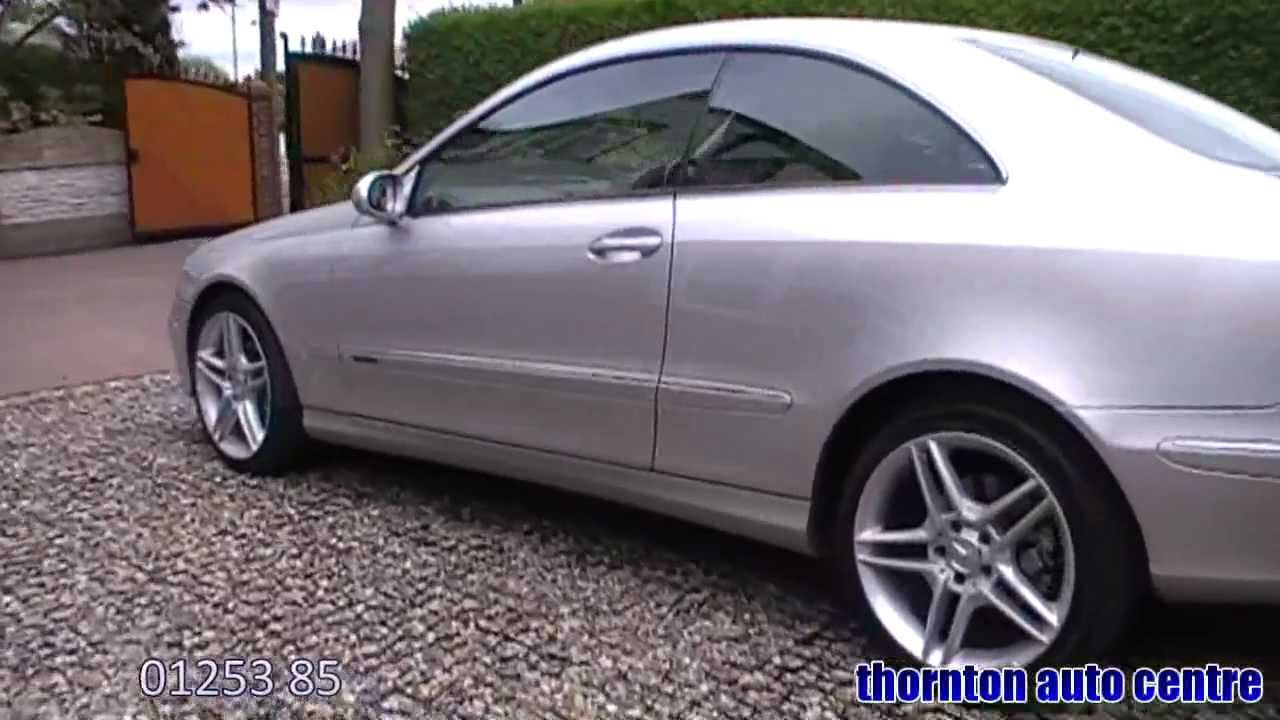 2003 mercedes clk 270 cdi elegance auto youtube. Black Bedroom Furniture Sets. Home Design Ideas