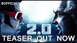 2.0 Teaser (Tamil)  Rajinikanth, Akshay Kumar   Shankar   A.R. Rahman   Lyca Productions