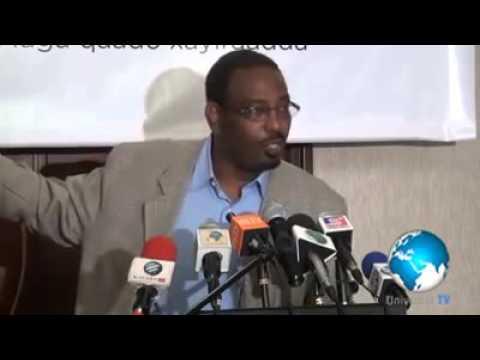 Farah Maalim speaks on problems facing the Somali community