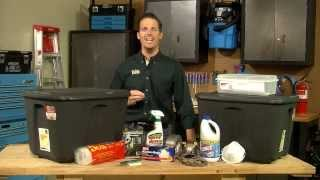Do -It -Yourself :Building an Emergency Supply Kit