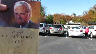 Walk With Me - Steve Martin. Franklin Graham book signing. Billy Graham Library. 11.07.18 (#1 of 9)