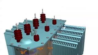 видео Электрическая схема трансформатора