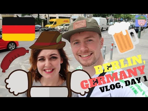 Berlin, Germany | Travel Vlog | Crowne Plaza Hotel | Hard Rock Cafe Berlin | Shopping | Day 1