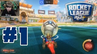 Rocket League 1 THIS IS CRAZY FUN  KID GAMING
