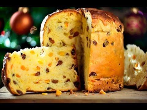 Панеттоне – это сладкий пирог с изюмом, который в Италии пекут на Рождество и Пасху.
