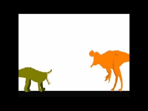 Pivot Battle Arena: Sinotyrannus vs Kaprosuchus