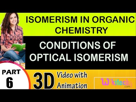 conditions of optical activity isomerism in organic chemistry class 12 chemistry subject cbse