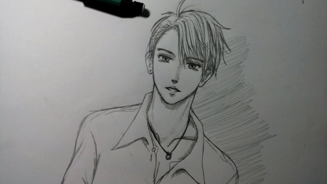[Draw my Stye] Vẽ con trai manga