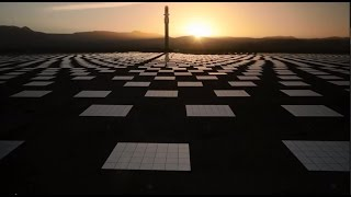the crescent dunes solar energy project a solar thermal power plant that works day and night