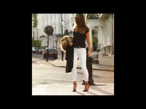 [VIDEO] - Chic fall outfit ideas with white jeans 2