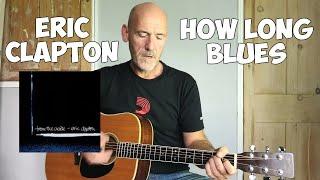 How long blues - Eric Clapton - Guitar lesson