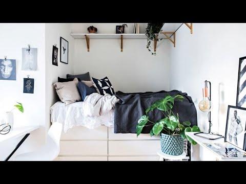 Tour Tiny Studio Apartment in Stockholm 🍍