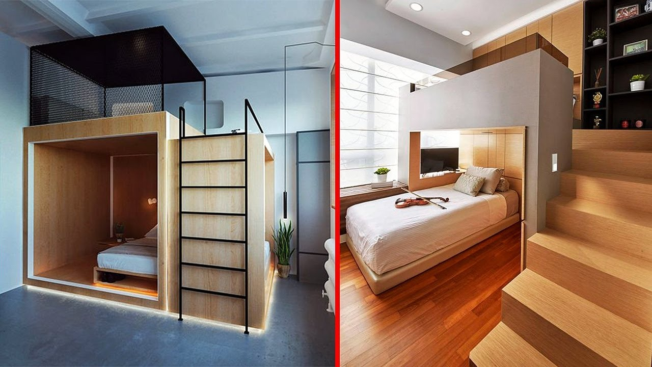 Download INCREDIBLE BedRooms In Small Spaces │Space Saving Furniture ▶ 9 !