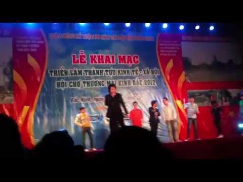 Châu Việt Cường và nhóm nhảy Bắc ninh - mấy em chân dài miên man nhé