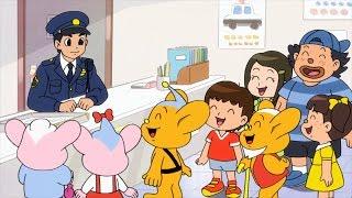 ピーポくんアニメーション【第1話】 毎日がんばるおまわりさん!の巻