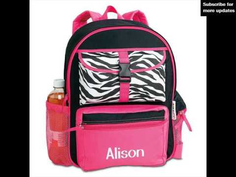 Personalized backpacks for toddlers uk