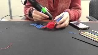 Amazing 3Doodler Macaw Time Lapse