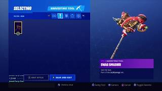 *NEW* UNLOCKING THE SWAG SMASHER TOOL on Fortnite Battle Royale Season 8
