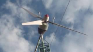 Краткий обзор защиты моего ветрогенератора.