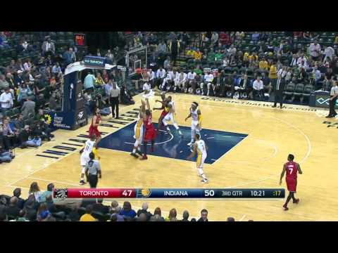 Toronto Raptors vs Indiana Pacers | March 17, 2016 | NBA 2015-16 Season