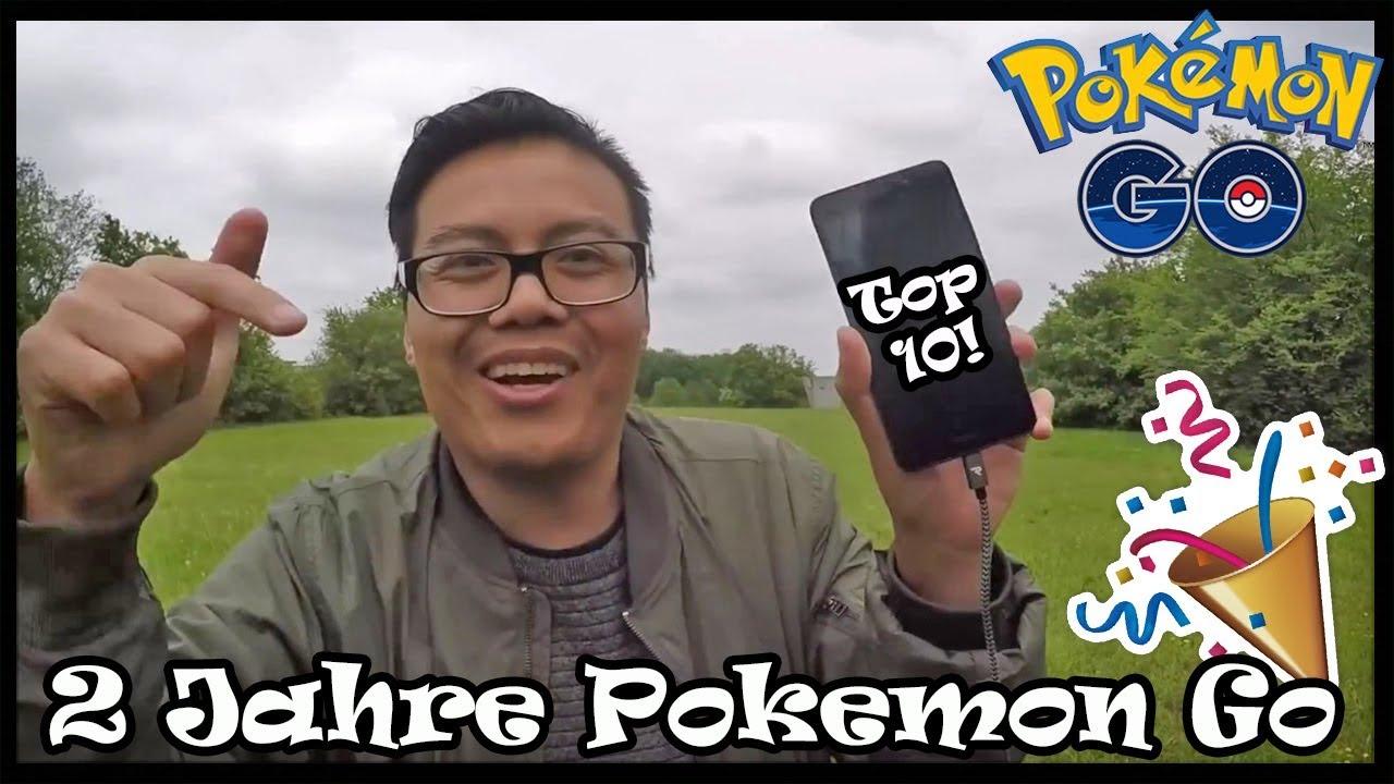Meine Top 10 VIDEOS in 2 Jahren Pokemon Go! Jahrestag Special Jubiläum! Pokemon Go!