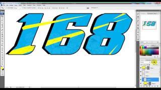 #168  cara membuat nomor start di photoshop