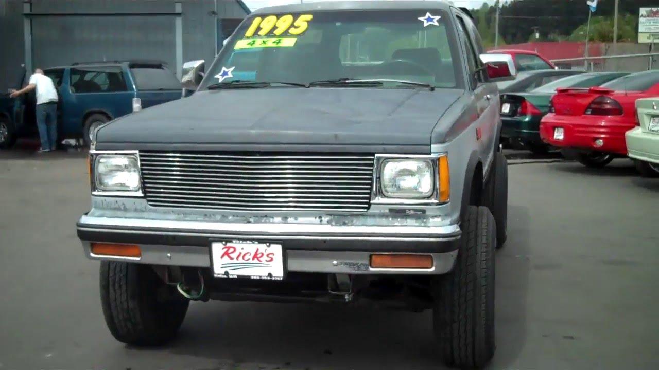1987 chevy s10 4x4