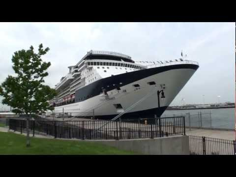 Bayonne, New Jersey - Celebrity Summit at Cape Liberty Cruise Port HD (2012)