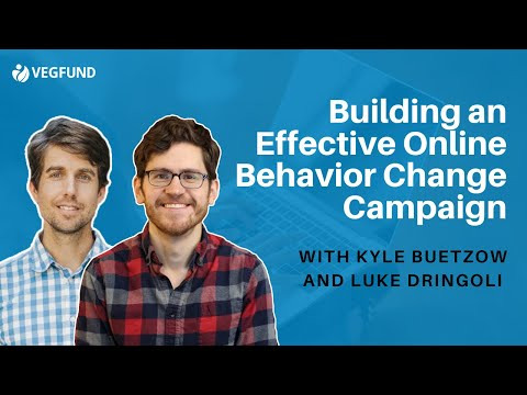 Building an Effective Online Behavior Change Campaign