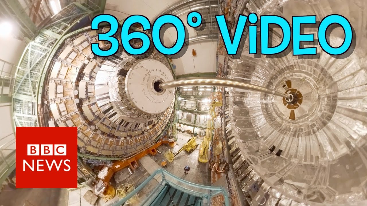 Step inside the Large Hadron Collider (360 video) - BBC News
